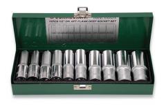 """Комплект торцевых головок 1/2""""DR 10-24 мм, 11 предметов JONNESWAY (S04HD411S)"""