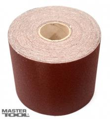 Шкурка наждачная зерно 100 200 мм*50 м Mastertool (08-2710)
