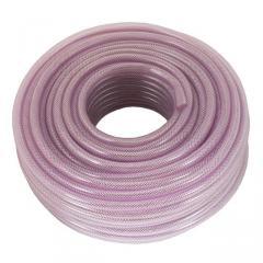 Шланг PVC высокого давления армированный 12мм*50м INTERTOOL PT-1743
