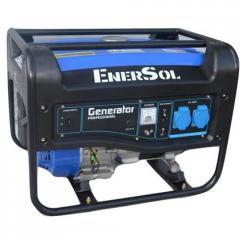 Бензиновый генератор EnerSol однофазный 3 кВА, двигатель HONDA GX200, 39 кг