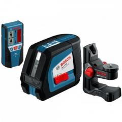 Линейный лазерный нивелир (построитель плоскостей) Bosch GLL 2-50 + BM1 (новый) + L-Boxx (0601063108)
