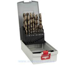 Набор сверл по металлу Bosch HSS-Co 25шт.(1-13мм) (2608587018)