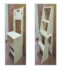 Chair - a step-ladder (transformer)