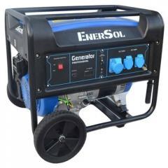 Бензиновый генератор EnerSol однофазный 7 кВА, двигатель HONDA GX390, 88 кг