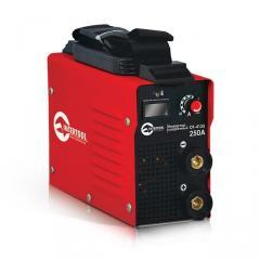 Инвертор мини 9.6кВт, 30-250А., электрод 1.6-5.0мм., IGBT, кейс. INTERTOOL DT-4125