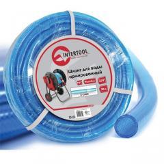 """Шланг для воды 3-х слойный 3/4"""", 30м, армированный PVC INTERTOOL GE-4075"""