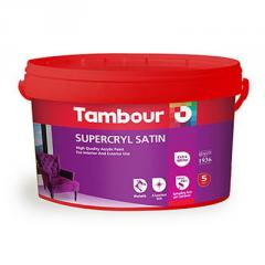 Акриловая краска Tambour (Тамбур) Supercryl Satin (Суперкрил Сатин)