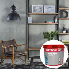 Декоративная краска Tambour (Тамбур) Concrete (Бетон)