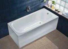 Ванна COMFORT PLUS 170*75см, прямоугольная, с