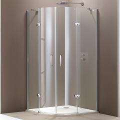 Душевая кабина (профиль глянц хром, стекло прозр) HUPPE AURA (400801092321)