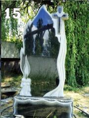 Гранітні одинарні пам'ятники Запоріжжя ... -