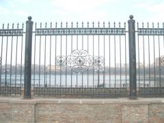 Кованые ограды Киев, кованые ограды, кованые