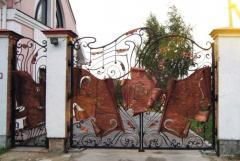 Эксклюзивные ворота, кованые ворота и калитки,