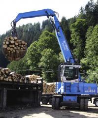 Погрузчики лесные гидравлические. Погрузчики TEREX