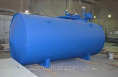 Подземный топливный модуль,  цилиндрический...