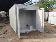АБП 8 куб. м - контейнерный топливный модуль...
