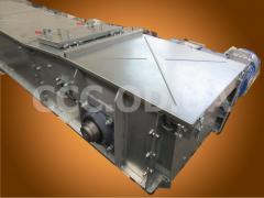 КС-1000, Q=1000 т\ч, Конвейер цепной скребковый, редлер
