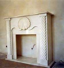 Fireplaces from natural marble, Donetsk, Ukraine