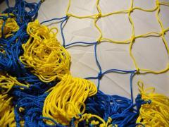 Sports net: Impact absorbing net for futsal,