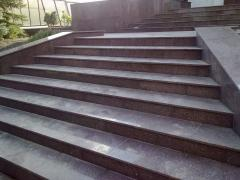 Granite steps, Donetsk, Ukraine