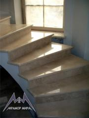 Marble steps, marble window sills, Donetsk,