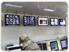 System of video surveillance metallurgical