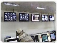 System of video surveillance metallurgical