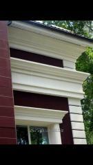 Expanded polystyrene decorative elements
