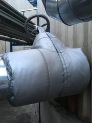 Изоляция запорной арматуры (термочехлы)