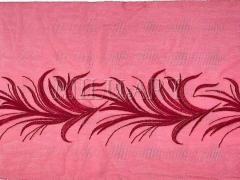 Кружево вышивка на сетке бодовое 851-22