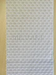 Кружево вышивка на сетке белое 847-17