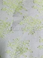 Кружевное полотно Салатовое S0644EA
