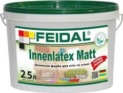 Латексная краска для стен и потолков Innenlatex