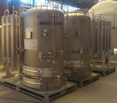 Cryogenic gasifiers MBC series