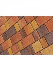Тротуарная плитка Старый город разные цвета