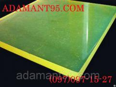 Полиуретан, лист, толщина 3-30 мм, размер 500х500