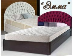 """Кровать односпальная из массива """"Эмма"""""""