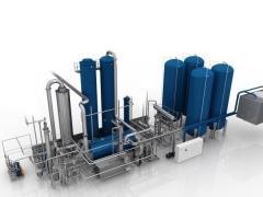 Установки для производства углекислоты из дымовых