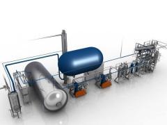 Установки для производства углекислоты из