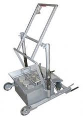Вибропресс для производства стеновых материалов (отсевоблоки, керамблоки, шлакоблоки)