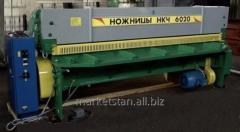 Ножницы гильотинные НКЧ 6020 6х2500мм электромеханические