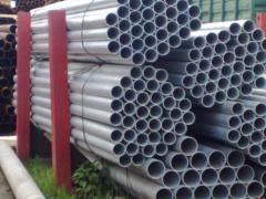 Galvanized pipe always available with delivery