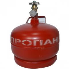 Газовый баллон 5 л с вентилем ВБ-2