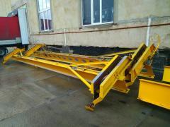 Underslung crane g/n 5T, flight 9 m