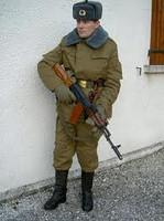 Форма афганка зимняя СССР