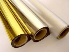 Пленка полипропиленовая металлизированная