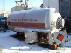 Storage Tanks for pulsed gas