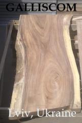 Столешница деревянная экзотической породы Манкипод