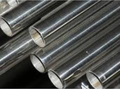 Pipes from stainless steel always available with