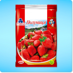 Strawberry the frozen TM of Rud
